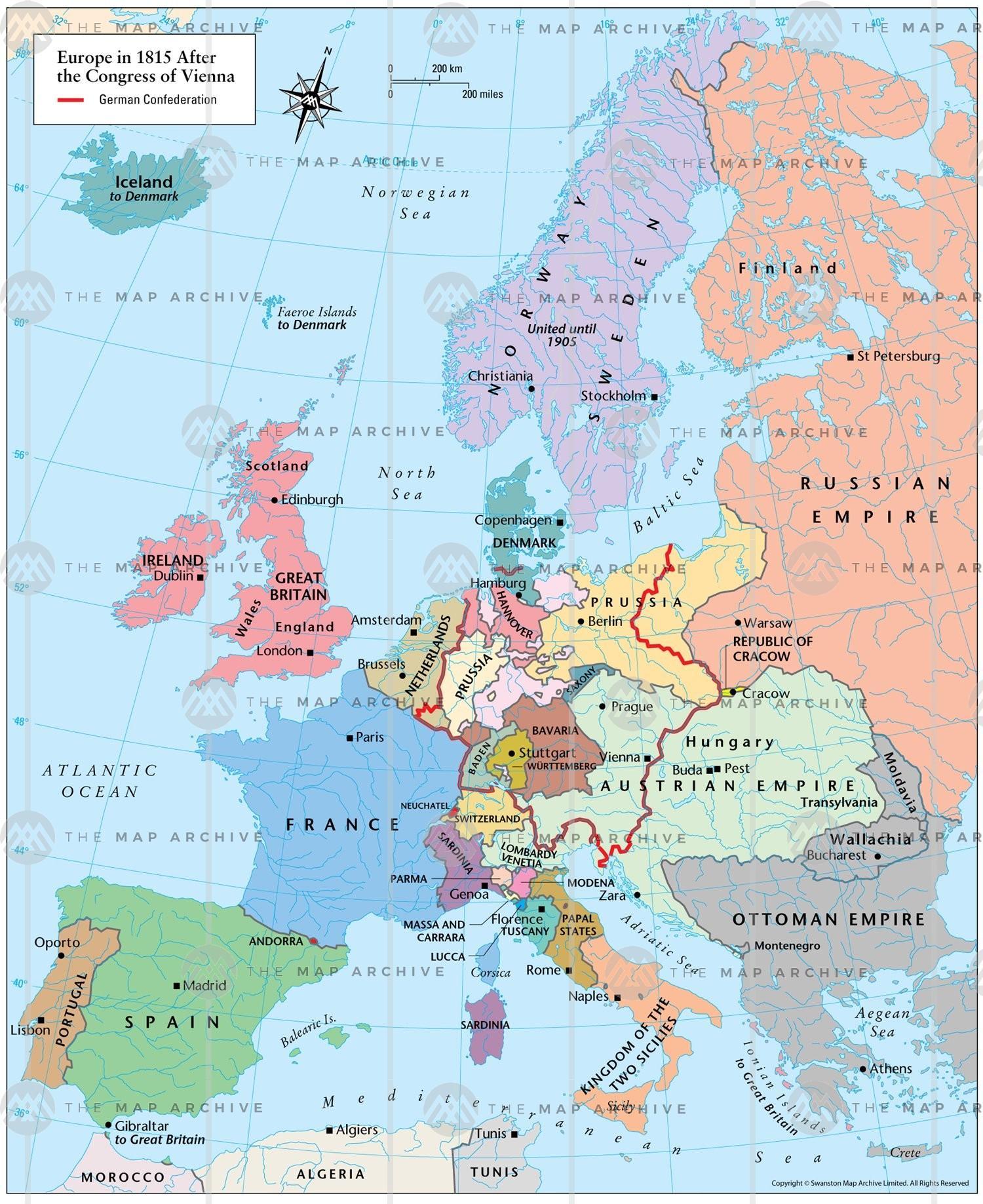 Carte Europe Vienne.Vienne De La Carte De L Europe Vienne Autriche Carte D